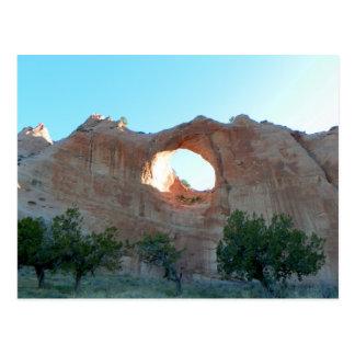 Window Rock Postcard
