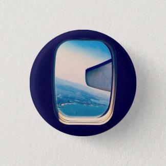 Window Seat 1 Inch Round Button