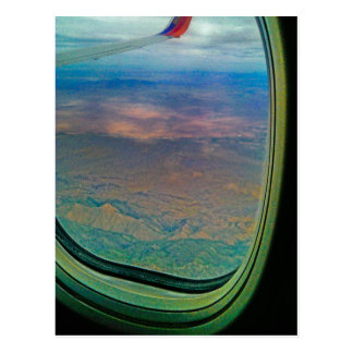 Window Seat Winning Postcard