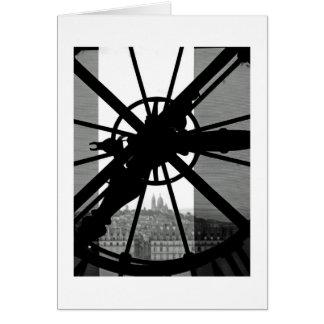 Window through Time Card