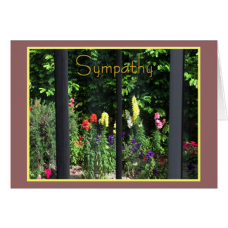 Window to the Garden Sympathy Card for Anyone