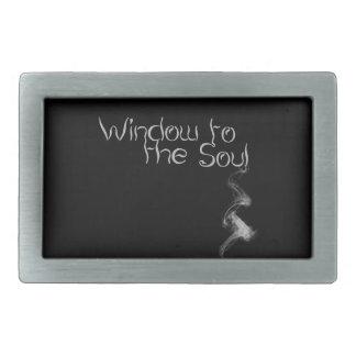 Window to the Soul Belt Buckle
