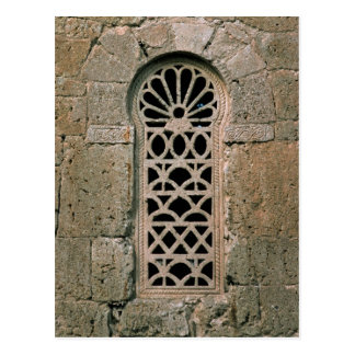 Window tracery, from  Basilica San Juan Postcard