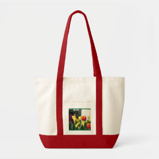 """Window Tulips Garden""  Bag"