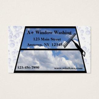 Window Washing Business Card