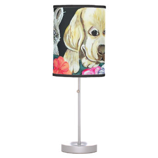 Windowbox Pets Table Lamp