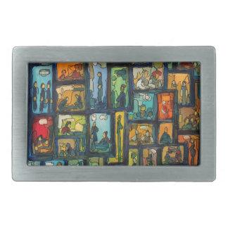 WINDOWS ART 40F.01 BELT BUCKLE