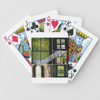 Windows Bicycle Playing Cards