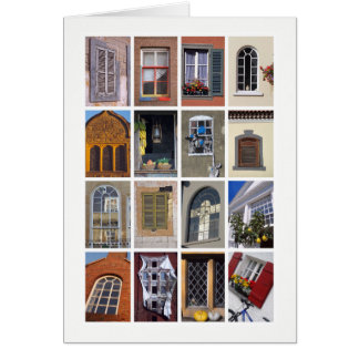 Windows greetings card