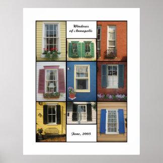 windows of annapolis poster