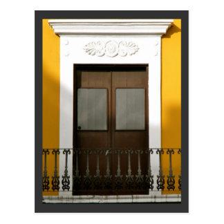 Windows of Old San Juan, Puerto Rico Postcard