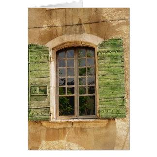 Windows of Provence Card