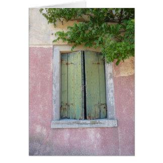Windows of Venice #1 Card