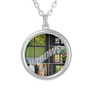 Windows Silver Plated Necklace