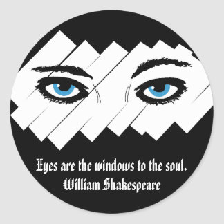 Windows to the Soul Stickers