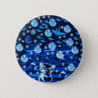 Winds niyanko castle snow compilation 2 inch round button