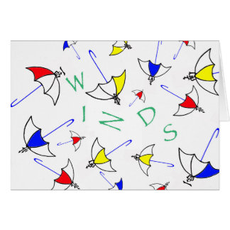 Winds Notecards Card