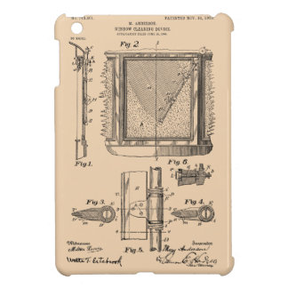 Windshield Wipers, Mary Anderson, Inventor iPad Mini Cases