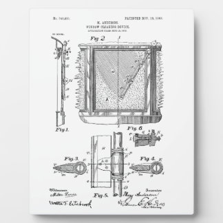 Windshield Wipers, Mary Anderson, Inventor Plaque