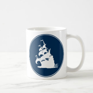 Windship bends before a Fresh Breeze Coffee Mug
