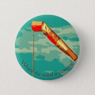 Windsock 2 Inch Round Button