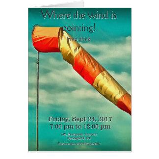 Windsock Card