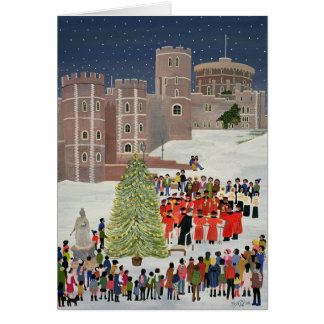 Windsor Castle Carol Concert 1989 Card