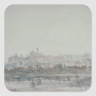 Windsor Castle from the River, 19th century Stickers