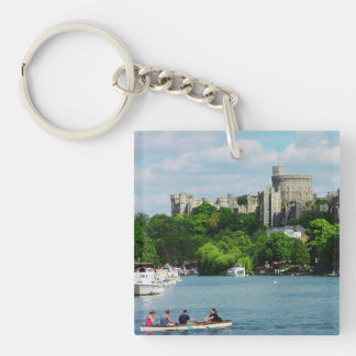 Windsor Castle from the Thames Keychain
