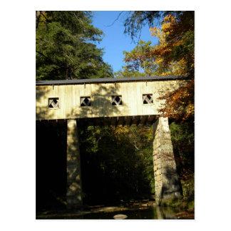 Windsor Mills Rd Covered Bridge Ashtabula County O Postcard