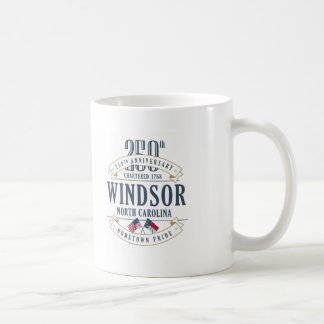 Windsor, North Carolina 250th Anniversary Mug