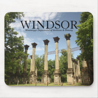 Windsor Ruins ~ MS Dept of Archives & History Mouse Pad