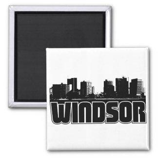 Windsor Skyline Magnet