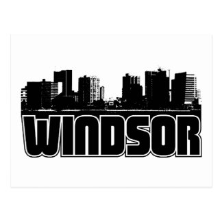 Windsor Skyline Postcard