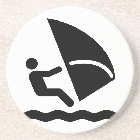 Windsurf Symbol Coaster