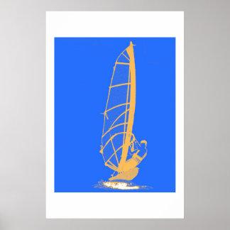 Windsurfer Poster
