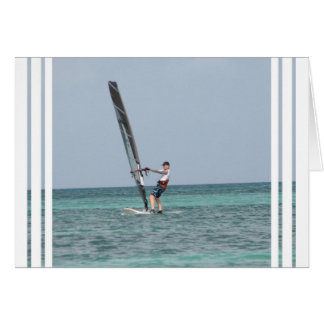 Windsurfing Basics Greeting Card