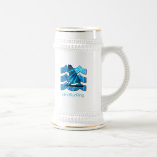Windsurfing Beer Stein