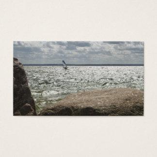 Windsurfing - business card