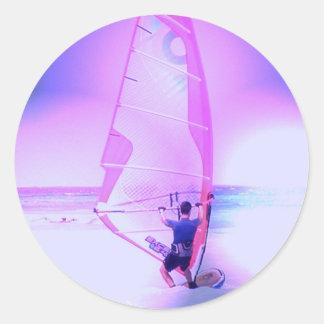 Windsurfing Color Sticker