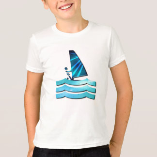 Windsurfing Design Kid's T-Shirt