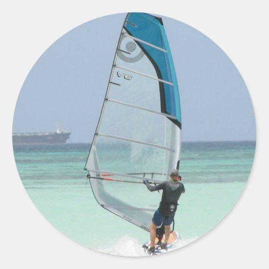Windsurfing Fun Sticker