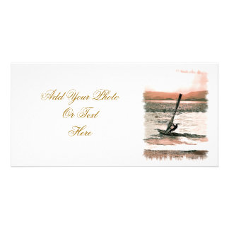 WINDSURFING PICTURE CARD