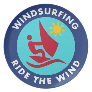 Windsurfing Ride The Wind Plate
