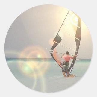 Windsurfing Sport Sticker