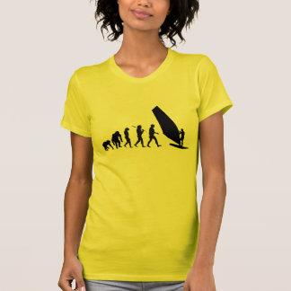 Windsurfing womens sports sailboard sailing T-Shirt