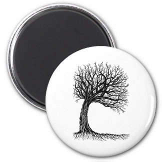 windswept tree of life magnet