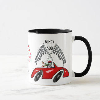 Windy 500 (Personalized Ceramic Mug) Mug