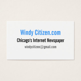 Windy Citizen Business Cards