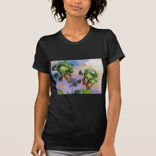 Windy Palm Trees T-Shirt